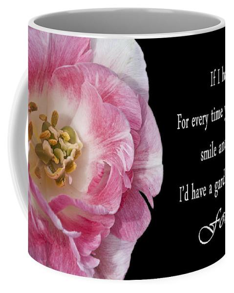 Flower Coffee Mug featuring the photograph If I Had A Flower by Deborah Klubertanz