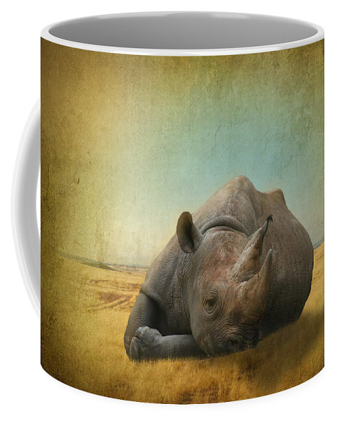 Lazy Days Coffee Mug featuring the photograph Lazy Days by Dave Godden