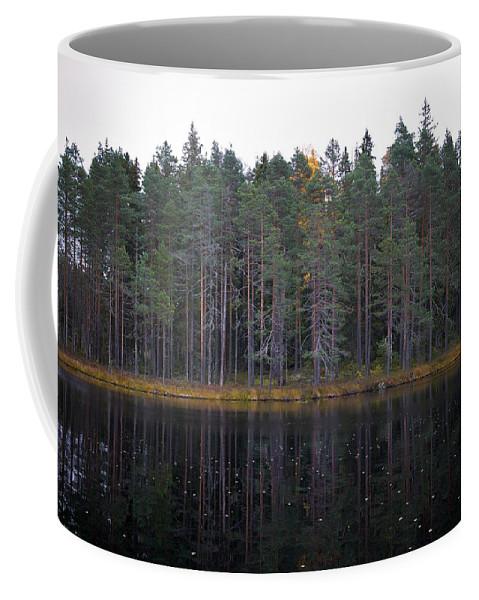 Lehtokukka Coffee Mug featuring the photograph Pitkajarvi 3 by Jouko Lehto