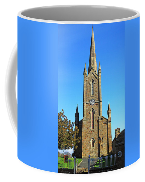 Church Coffee Mug featuring the photograph Pointed Church by Jennifer Robin
