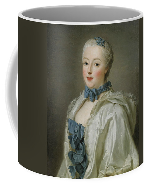 Swedish Artist Coffee Mug featuring the painting Portrait Of Francoise-marguerite De Sevigne by Alexander Roslin