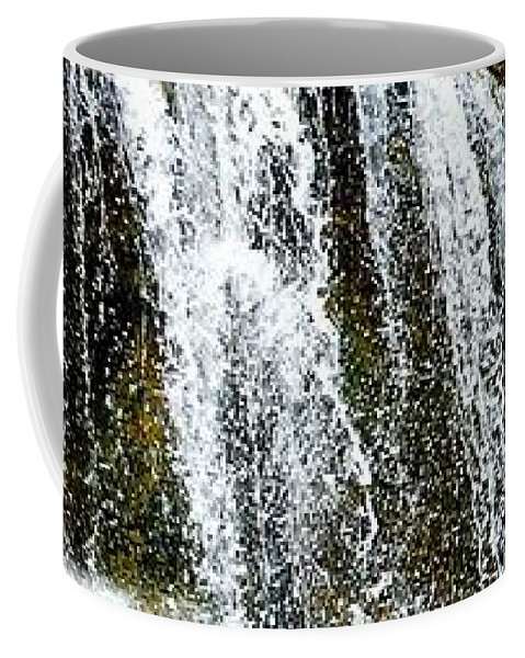 Coffee Mug featuring the photograph Rock Glen Falls Iphone 6s by Daniel Thompson