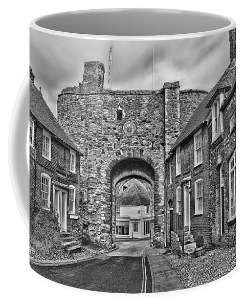 Rye Coffee Mug featuring the photograph Rye - The Landgate by Dave Godden