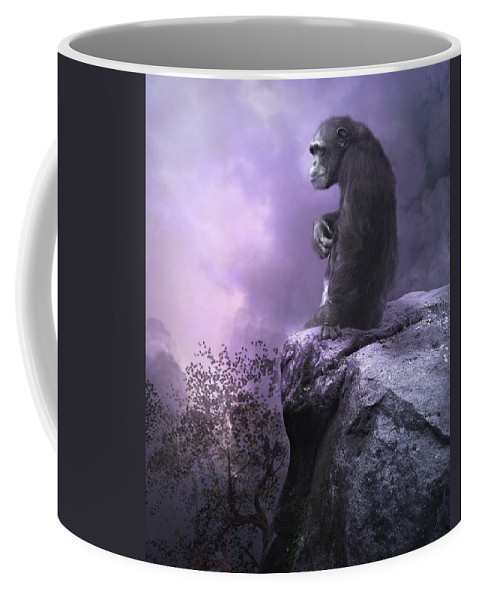 The Night Watch Coffee Mug featuring the photograph The Night Watch by Dave Godden