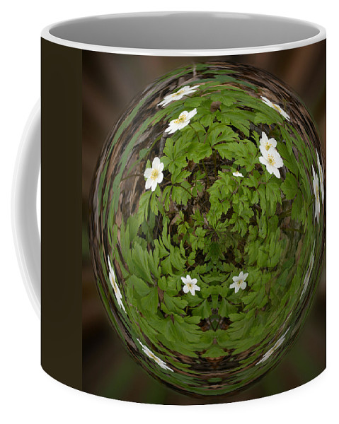 Lehtokukka Coffee Mug featuring the photograph This Little Anemone Planet 4 by Jouko Lehto