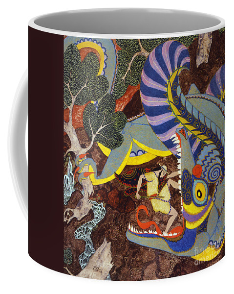 1918 Coffee Mug featuring the painting Hawthorne: Tanglewood by Granger