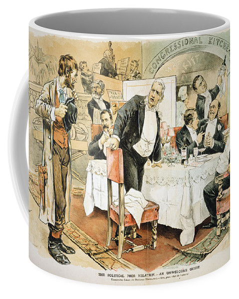 1888 Coffee Mug featuring the painting Populist Movement by Granger