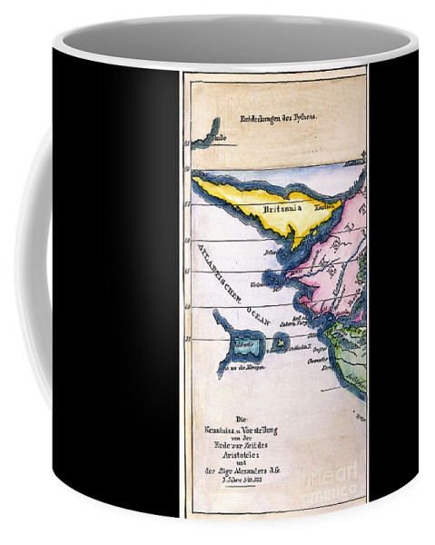 1831 Coffee Mug featuring the painting Atlantis: Map, 1831 by Granger