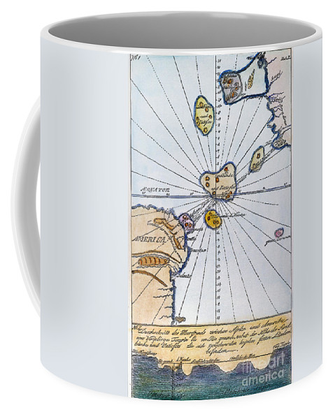1785 Coffee Mug featuring the painting Traces Of Atlantis by Granger