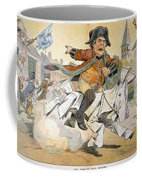 1904 Coffee Mug featuring the painting Populist Party Cartoon by Granger