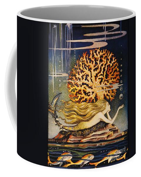 1932 Coffee Mug featuring the painting Andersen: Little Mermaid by Granger