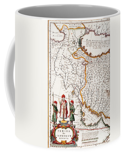 1662 Coffee Mug featuring the painting Mesopotamia, 1662 by Granger