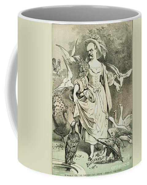1878 Coffee Mug featuring the painting Otto Von Bismarck by Granger
