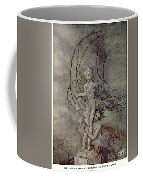 19th Century Coffee Mug featuring the painting Andersen: Little Mermaid by Granger