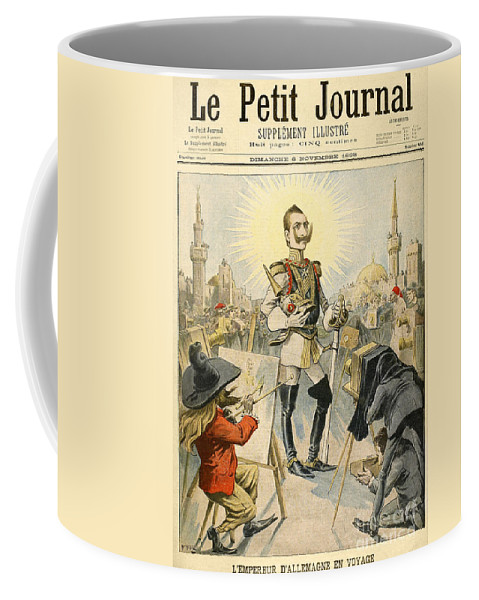 1898 Coffee Mug featuring the painting William II Of Germany by Granger