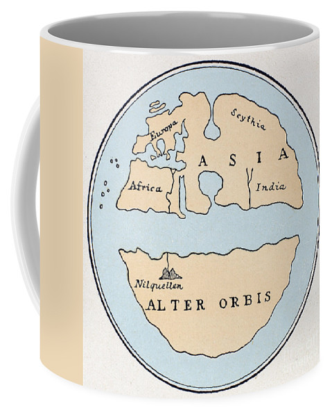1st Century Coffee Mug featuring the painting World Map, 1st Century by Granger