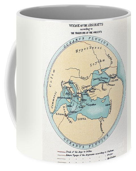 Africa Coffee Mug featuring the painting Voyage Of The Argonauts by Granger