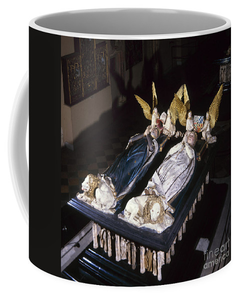 15th Century Coffee Mug featuring the painting France: Tomb Of John II by Granger