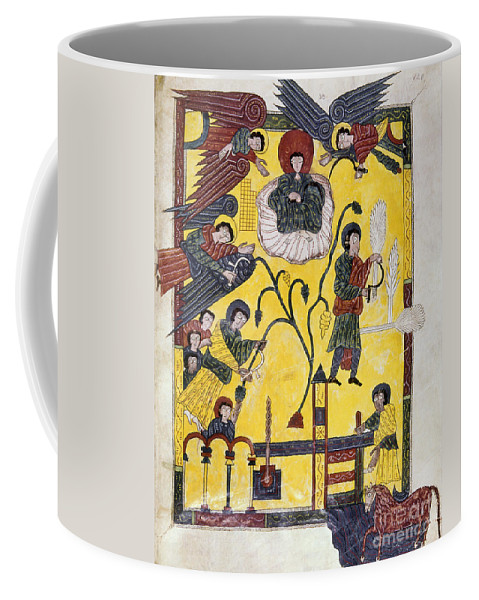 970 Coffee Mug featuring the painting Spain: Grape Harvest by Granger