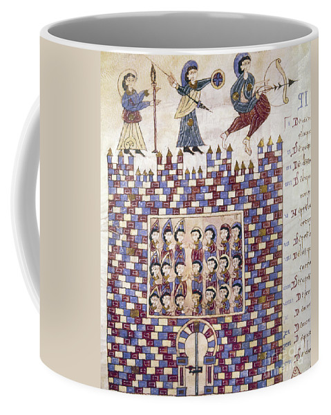 10th Century Coffee Mug featuring the painting Spain: Reconquest by Granger