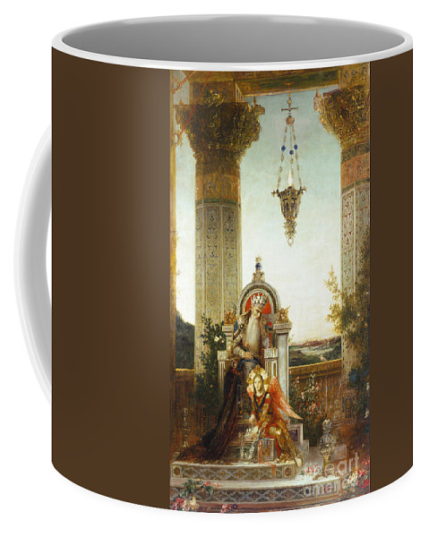 19th Century Coffee Mug featuring the painting Moreau: King David by Granger