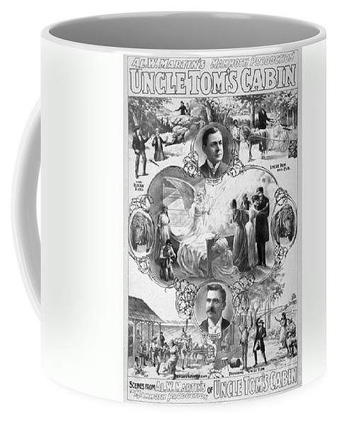 1899 Coffee Mug featuring the painting Uncle Tom's Cabin, C1899 by Granger