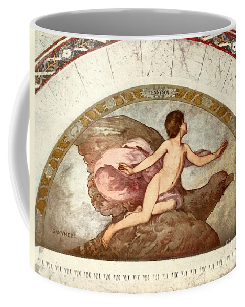 1901 Coffee Mug featuring the painting Ganymede, C1901 - To License For Professional Use Visit Granger.com by Granger