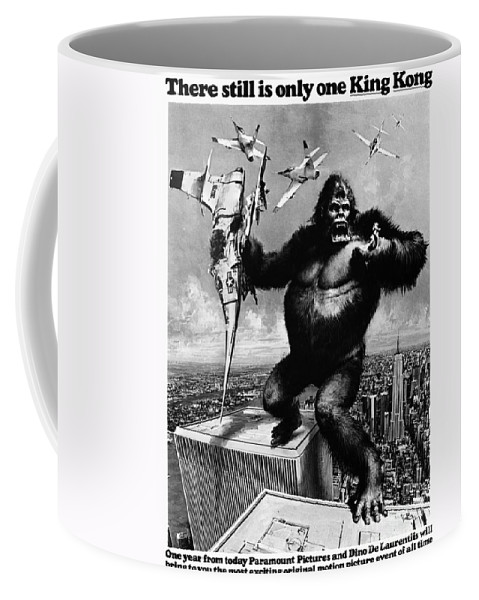 1975 Coffee Mug featuring the painting King Kong, 1976 by Granger