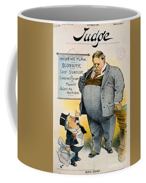 1909 Coffee Mug featuring the painting William Howard Taft by Granger