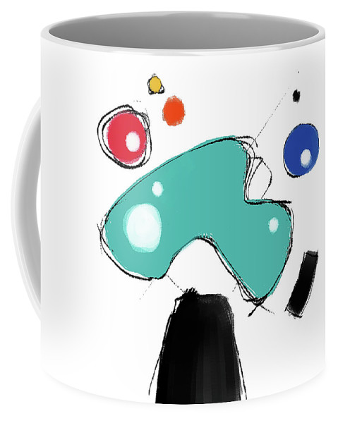 Painting Coffee Mug featuring the painting 040310ca by Toshio Sugawara