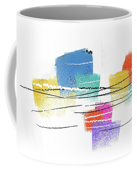 Painting Coffee Mug featuring the painting 040527ab by Toshio Sugawara
