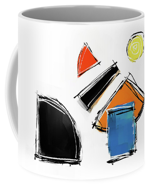 Painting Coffee Mug featuring the painting 040803aa by Toshio Sugawara