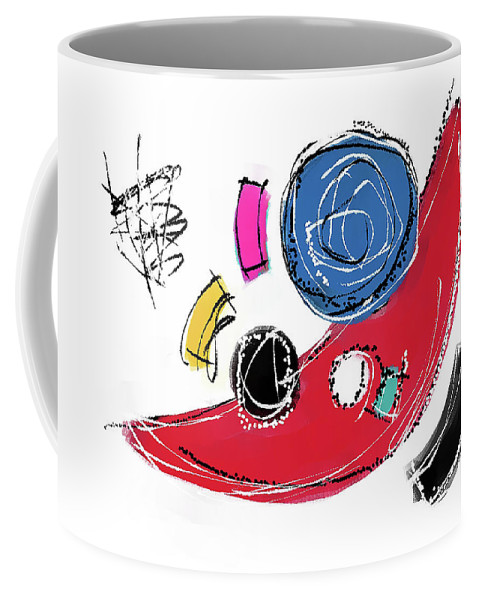 Painting Coffee Mug featuring the painting 040811aa by Toshio Sugawara