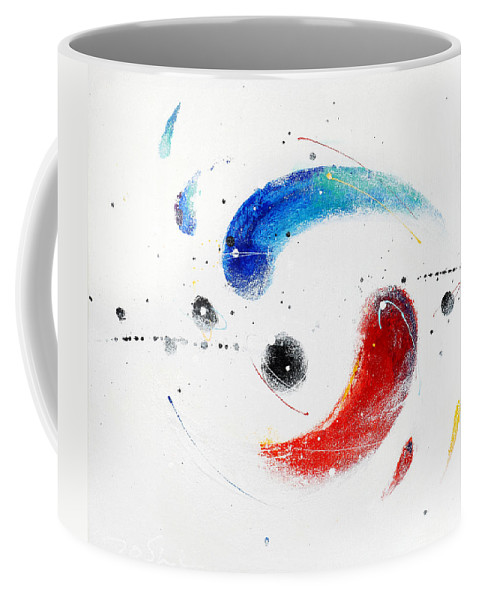Painting Coffee Mug featuring the painting 090824 by Toshio Sugawara