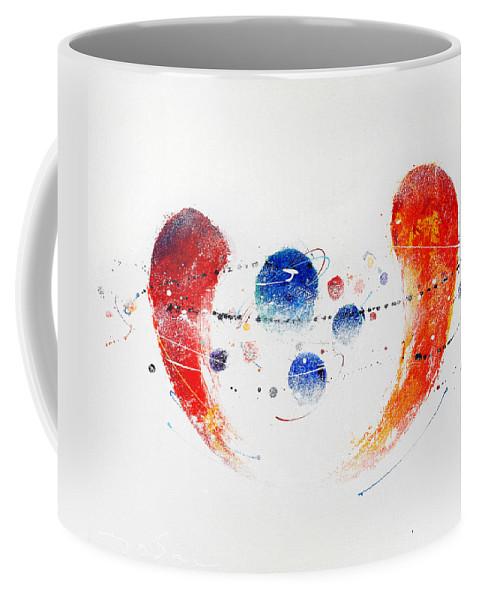 Painting Coffee Mug featuring the painting 090825 by Toshio Sugawara