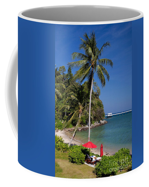 Beautiful Coffee Mug featuring the photograph Phuket Thailand by Anthony Totah