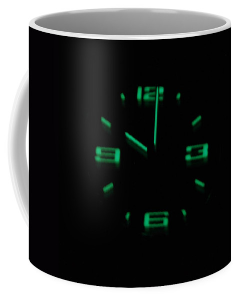 Neon Coffee Mug featuring the photograph 10 01 by Rob Hans