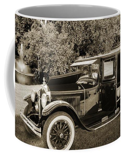1924 Buick Duchess Coffee Mug featuring the photograph 1924 Buick Duchess Antique Vintage Photograph Fine Art Prints 10 by M K Miller
