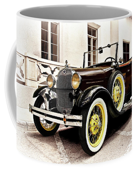 1931 Coffee Mug featuring the photograph 1931 Ford Phaeton by Marcia Colelli