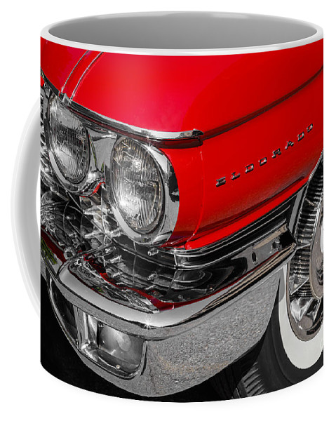 1960 Coffee Mug featuring the photograph 1960 Cadillac by Dennis Hedberg