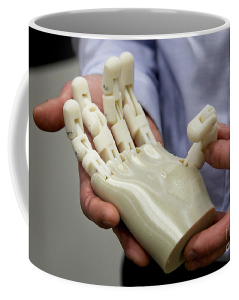 Science Coffee Mug featuring the photograph 3d Printing, Additive Manufacturing by Science Source