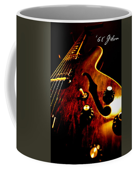 1968 Coffee Mug featuring the photograph '68 Gibson by Christopher Gaston