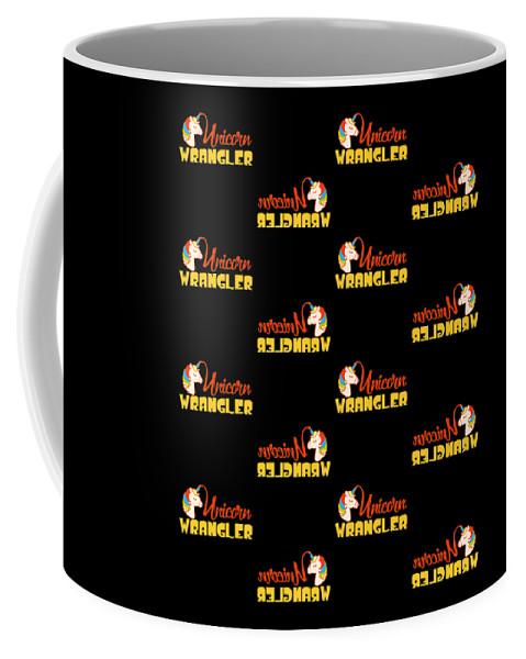 Baby-girl Coffee Mug featuring the digital art 9f7d1f4e144eb632 Tile Option 2 by Kaylin Watchorn