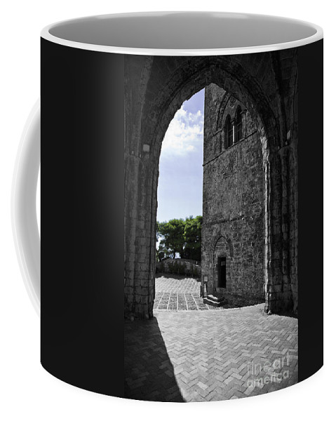 Arch Coffee Mug featuring the photograph A Gothic View by Madeline Ellis