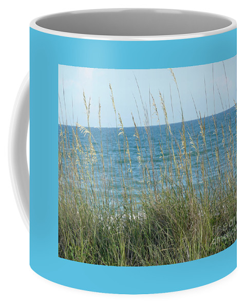 Beach Coffee Mug featuring the photograph Afternoon At The Beach by Barb Montanye Meseroll