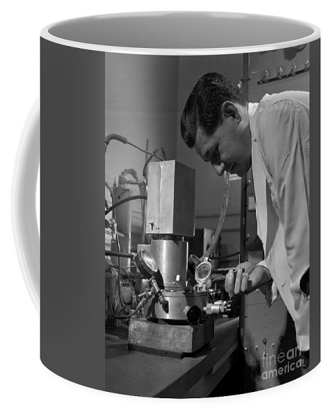 Science Coffee Mug featuring the photograph Albert Ghiorso, American Nuclear Chemist by Science Source