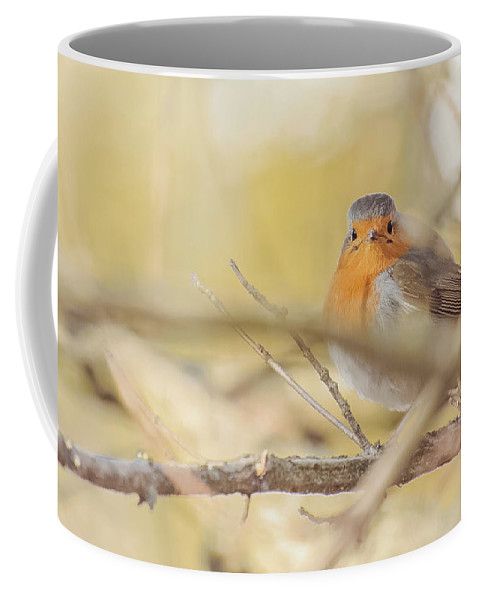 Nature Coffee Mug featuring the photograph Along The River by Laura Diara