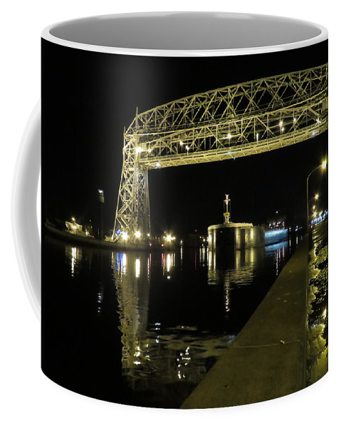 Lake Superior Coffee Mug featuring the photograph American Integrity by Alison Gimpel