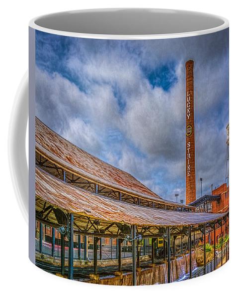 American Tobacco Campus Coffee Mug featuring the photograph American Tobacco Campus by Izet Kapetanovic