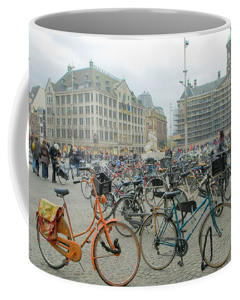 Amsterdam Coffee Mug featuring the photograph Amsterdam by Svetlana Sewell